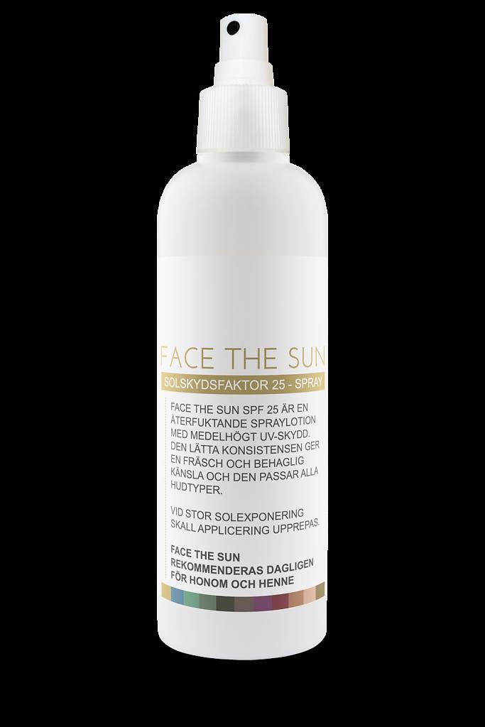 FACE THE SUN SPF 25